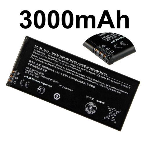 Microsoft Lumia 950 Original Battery BV-T5E 3000mAh RM-1106 RM-1104 RM-110 baterija akumulators