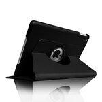 Apple iPad 5 Air 360 Degree Leather Rotating Sleep Wake Case Cover Stand Black maks