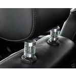 Auto sēdekļu galvas balstu atsperes Car Seat Headrest Springs Chrome Look Headrest Shocks