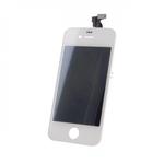 TF1 Analogs LCD Displejs + Skarienjūtīgais ekrāna elements priekš iPhone 4G Pilns modulis Balts