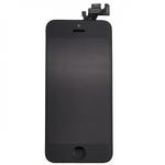 HQ Analogs LCD Displejs + SkarienjÅ«tÄ«gais ekrÄ?na elements priekÅ? iPhone 5 Pilns modulis A+ kvalitÄ?te Melns