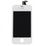 HQ Analogs LCD Displejs + SkarienjÅ«tÄ«gais ekrÄ?na elements priekÅ? iPhone 4S Pilns modulis A+ kvalitÄ?te Balts