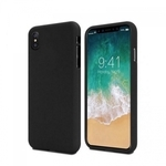 "Mercury Soft feeling Super PlÄ?ns TPU MatÄ""tas virsmas aizmugures maks-apvalks priekÅ? Apple iPhone 11 Pro (5.8"") Melns"