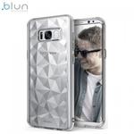 Blun 3D Prism Formas Super PlÄ?ns silikona aizmugures maks-apvalks priekÅ? Samsung Galaxy A70 (A705F) CaurspÄ«dÄ«gs