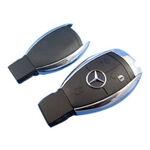 Mercedes Benz W221 W211 S Class IR Remote Key Case Smart Cover Fob atslēgas korpuss