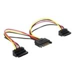 Delock Kabel Power SATA 15 Pin > 2 x SAT