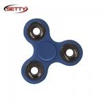 Setty Long & Smooth Roku Spinners Anti-Stresa Fidget aksesuārs no izturīga Eko Plastikāta Zils