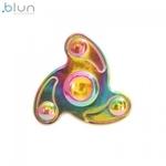 Blun Hameleona krāsas Pinball formas Anti-Stresa Fidget aksesuārs no Metāla (Metāla kārbā)