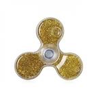 Setty Šķidruma un Dzeltenu Spīdumu elementu pildīts Anti-Stresa Fidget aksesuārs no Caurspīdīga plastika