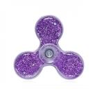 Setty Šķidruma un Violeta Spīdumu elementu pildīts Anti-Stresa Fidget aksesuārs no Caurspīdīga plastika