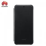 Huawei Mate 20 Lite Oriģināls super plāns sāniski atverams maks Melns