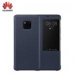 Huawei Mate 20 Pro Oriģināls super plāns Smart view sāniski atverams maks Zils