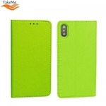 Takeme Magnēstikas Fiksācijas Sāniski atverams maks bez klipša Samsung Galaxy S10e / S10 Lite Zaļš