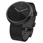 Motorola Moto 360 Watch Leather Black