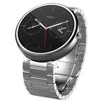 Motorola Moto 360 Watch Stainless Steel Light