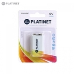 Platinet Krona 9V 1 Cell Alkaline 6LR61 6LF22 MN1604 Long Lasting Power Battery PMBL6LR61B (1pcs)