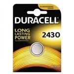 Duracell CR2430 Long Lasting Power 3V Lithium Litija Baterija (DL2430 / ECR2430) (1gab. Blisters)