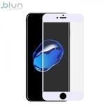 Blun 3D Ekstra līpīgs pilnas virsmas līmējāms 0.3mm rūdīts aizsargstikls no iekārtas malas līdz malai priekš Apple iPhone 7 Plus / 8 Plus (5.5inch) Full Face Balts