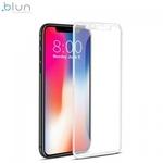 Blun 3D Ekstra līpīgs pilnas virsmas līmējāms 0.3mm rūdīts aizsargstikls no iekārtas malas līdz malai priekš Apple iPhone XR (6.1inch) Balts