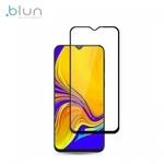 Blun 3D Ekstra līpīgs pilnas virsmas līmējāms 0.3mm rūdīts aizsargstikls no iekārtas malas līdz malai priekš Samsung Galaxy A50 (A505F) Full Face Melns