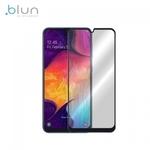 Blun 3D Ekstra līpīgs pilnas virsmas līmējāms 0.3mm rūdīts aizsargstikls no iekārtas malas līdz malai priekš Samsung Galaxy A20 (A205F) Full Face Melns