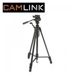 Camlink CML-CL-TPPRE23 Alumīnija statīvs foto/video kamerām ar 3D mehānismu (maks. augstums 160cm)