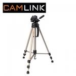 Camlink CML-CL-TP2100 Alumīnija statīvs foto/video kamerām ar 3D mehānismu (maks. augstums 145cm)