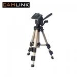 Camlink CL-TP330 Alumīnija statīvs foto/video kamerām ar 3D mehānismu (maks. augstums 61cm)