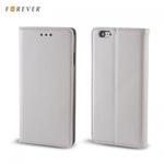 Forever Magnēstikas Fiksācijas Sāniski atverams maks bez klipša Huawei Y635 Sudrabains
