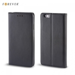 Forever Magnēstikas Fiksācijas Sāniski atverams maks bez klipša HTC Desire 820 Melns