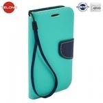 Telone Fancy Diary Book Case ar stendu Huawei Mate 9 sÄ?niski atverams GaiÅ?i zils/Zils