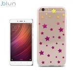 Blun ART Super plāns TPU aizmugures maks-apvalks ar attēlu priekš Xiaomi Redmi Note 4 Stars