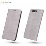 """Forever MagnÄ""""stikas FiksÄ?cijas SÄ?niski atverams maks ar spÄ«dumiem bez klipÅ?a priekÅ? Huawei P8 Lite RozÄ«gi zeltains"""