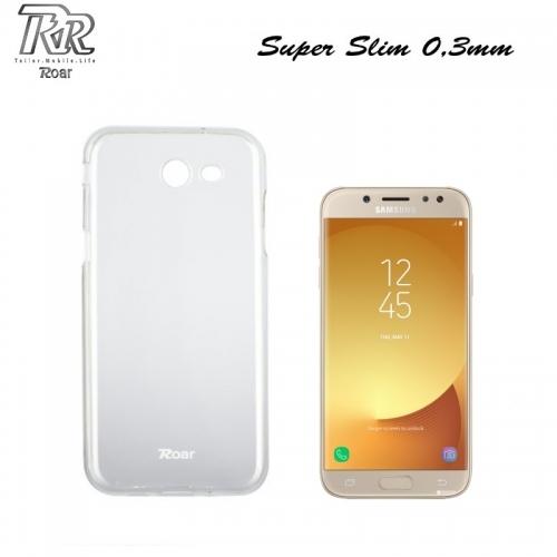Roar Super Plāns 0.3mm Premium Kvalitātes Aizmugures Apvalks Samsung J530F Galaxy J5 (2017) Caurspīdīgs (EU Blister)