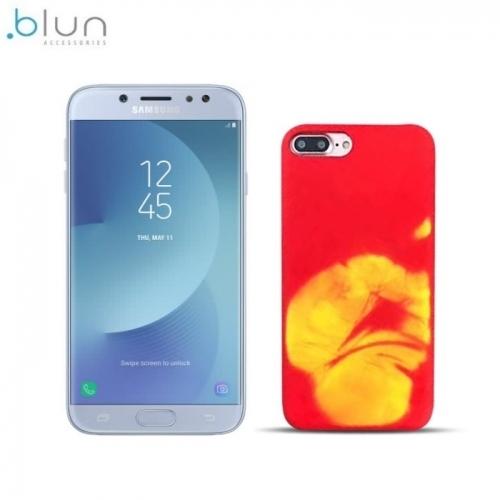 Blun TPU super plÄ?ns termo aizmugures maks-apvalks priekÅ? Samsung J530F Galaxy J5 (2017) Sarkans