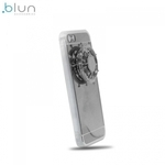 "Blun Super plÄ?ns spoguļvirsmas silikona aizsargvÄ?ciņÅ? ar iebÅ«vÄ""tu Spineri priekÅ? Apple iPhone 7 (4.7inch) Sudrabains"