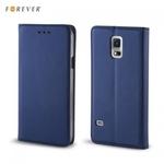 Forever Magnēstikas Fiksācijas Sāniski atverams maks bez klipša Huawei Y6 (2017) Tumši Zils