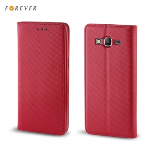 "Forever MagnÄ""stikas FiksÄ?cijas SÄ?niski atverams maks bez klipÅ?a Huawei Mate 10 Lite / Nova 2i / G10 Sarkans"