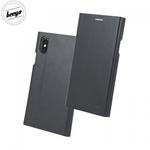 Beeyo Grande Premium Eko Ādas Sāniski atverams maks ar Smart Stendu priekš Huawei P10 Lite Melns