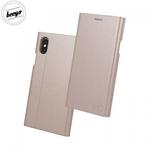 Beeyo Grande Premium Eko Ādas Sāniski atverams maks ar Smart Stendu priekš Huawei Mate 10 Lite / Nova 2i / G10 Rozīgi zeltains