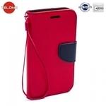 Telone Fancy Diary Book Case ar stendu Huawei Mate 10 Lite / Nova 2i / G10 sÄ?niski atverams Sarkans/Zils