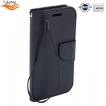 Takeme Fancy Diary Book Case ar stendu Huawei Honor 10 Lite sÄ?niski atverams Melns