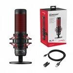 Kingston HyperX QuadCast Microphone HX-MICQC-BK