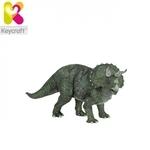 Keycraft CR34 Plastmasas Ekstra Liels (35cm) Dinozaurs - Triceratops rotaļlieta bērniem no 3+ gadiem