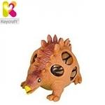 Keycraft NV356 Gooey Anti Stress Dinosaurs tīklā ar šķidrumu (10cm) bērniem 3+ gadiem Brūns