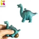 Keycraft NV378 Smieklīgs Saspiežamais Anti-stress atslēgu piekariņš - Dinosaurs (5.5cm) Zils