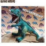 Living nature Mīksta rotaļlieta Dinozaurs - Tironozaurs Rex (21cm) bērniem no 1+ gada Zaļš