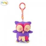 """Niny 700013 Mīksta piekaramā rotaļlieta - Skaista Pūcīte """"HOKU"""" bērniem no 0+ gadiem (22cm)"""