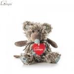 Lumpin 94040 Mīksta rotaļlieta Pele Richie bērniem no 0+ gadiem (mini izm. 25cm)