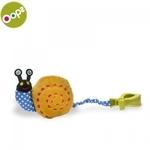 Oops Snail Piekaramā vibrējoša attīstoša rotaļlieta bērniem no 0m+ (25x7x12cm) Krāsaina 11013.13